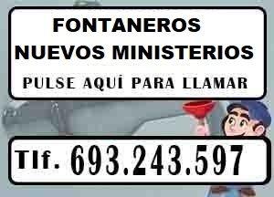 Fontaneros Nuevos Ministerios Madrid Urgentes